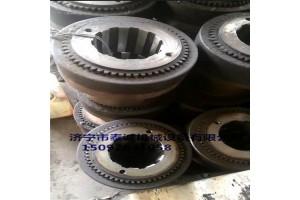 生產刮板機對輪、一軸、二軸、減速機、40T一軸軸承套、弧齒