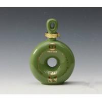 龙口陶瓷酒具酒瓶1斤2斤3斤5斤仿玉色厂家定做