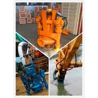 挖掘机排污泥泵-自带搅拌抽取