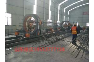 供应钢筋笼滚焊机 山东铁汉数控钢筋笼滚焊机生产厂家