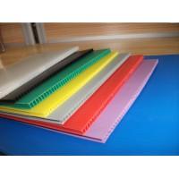 PP中空格子板塑料钙塑包装箱板生产线