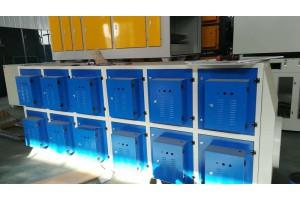 郑州市塑料厂挤塑机UV光解催化净化器新工艺参数高速优化