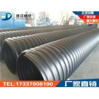 济源钢带缠绕管 埋地聚乙烯波纹管 孟州沁阳送货直达