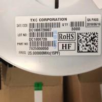 台湾晶技,7X25000050晶振,25M有源晶振
