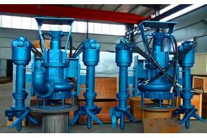 挖掘机改装液压驱动搅吸式抽沙泵清淤泵