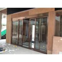 天津玻璃门地簧玻璃门钢化玻璃门感应门自动玻璃门