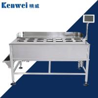 精威人工投料自动组合秤辣白菜腌青瓜定量组合秤肉排称重包装机