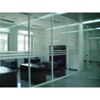 北京隔断安装玻璃隔断 磨砂隔断安装公司