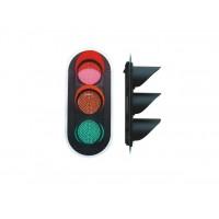 深圳300型红黄绿满屏三单元交通信号灯厂家直销