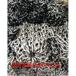 矿用高强度26*92-199刮板机圆环链