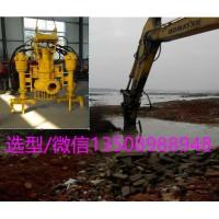 JHW勾机抽沙泵-液压动力吸沙泵-河道清淤新利器