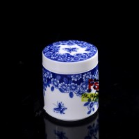 福州陶瓷食品包装罐1斤厂家报价 陶瓷罐批发