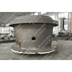 破碎机机架铸钢材质性能优越可出口