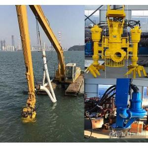 新型液压泥沙泵-江淮挖掘机吸沙泵 耐磨钩机沙浆泵