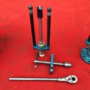 管道开孔器 80mm手动不停水钻孔机 法兰打孔器