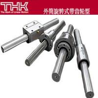 THK外筒旋转式带齿轮滚珠花键、LBG30、LBGT40