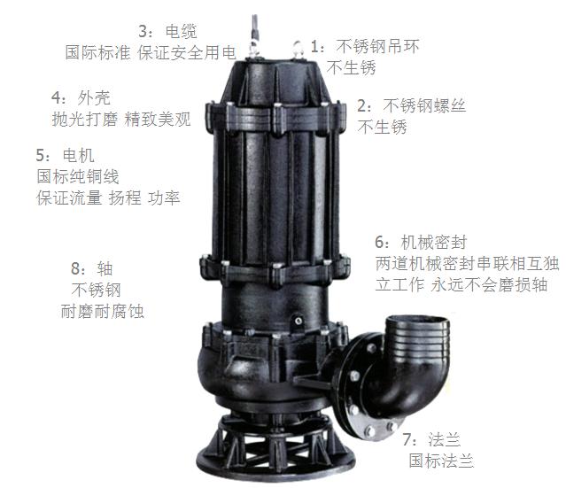 特点  污水泵