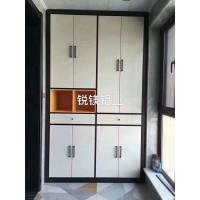 锐镁铝业厂家直销全铝书柜 铝合金配件 全铝酒柜家具定制