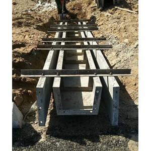 公路矩形排水沟模具_混凝土一次成型水沟模板_生产销售一体化
