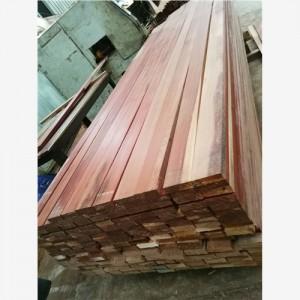 红柳桉木厂家直供第伦桃原木锯材