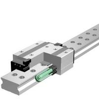 THK大尺寸导轨滚柱滑轨SRW70LR宽幅型滑块