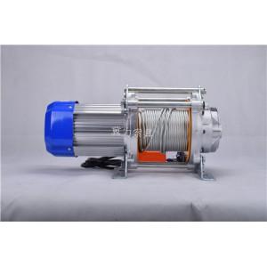 快速380V铝壳电动多功能提升机结构电话-冀力