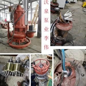 液下潜水排污泵 耐磨排泥泵 高扬程清淤泵 沃泉造