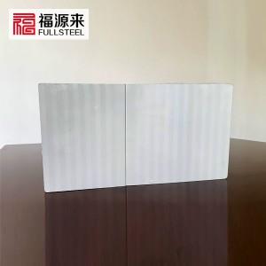 聚氨酯封边岩棉横装板,四企口隐藏式金属幕墙横铺板