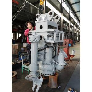 挖机抽砂泵,淄博沃泉工厂,液压抽砂泵,