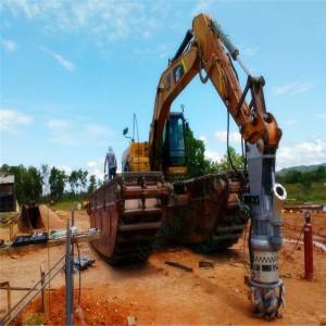 抽沙新设备-挖机抽沙泵 液压抽沙泵 挖机砂浆泵