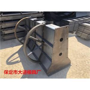 高速公路防撞护栏模具_2米长预制防护栏模具_保定市飞皇模具厂