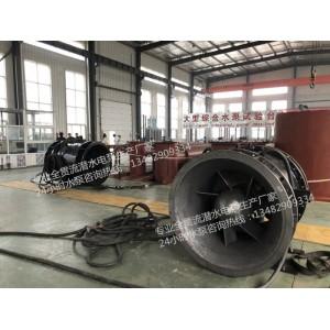 湖北斜拉式安装QGWZ全贯流水泵厂家价格