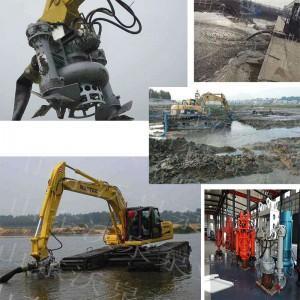 沃泉牌耐磨挖机泥砂泵 河道液压清淤泵 性价比介绍