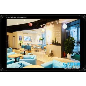 简约时尚便捷的连锁快餐店装修设计风格_快餐店装修