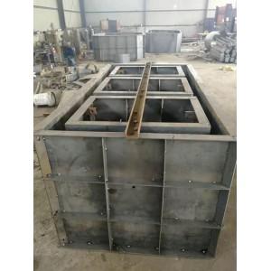 三格式化糞池模具-混凝土澆筑成形-農村廁所改造工程