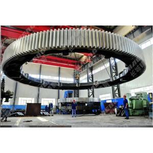 大齒圈廠家長期供應直徑3米以上的齒圈加工定制