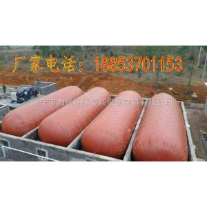 鸡场红泥软体沼气池使用方法及材质优点