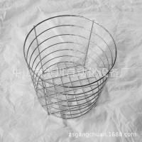 厂家低价生产直销圆形金属毛巾筐铁线毛巾篮镀铬浴巾筐收纳筐网篮