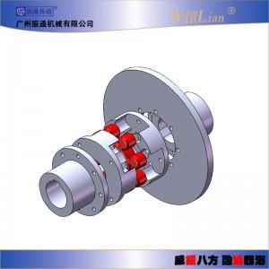 振通传动LMPK带制动盘梅花联轴器 可定制