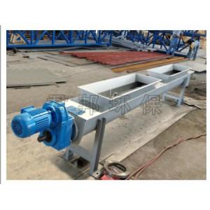 螺旋输送机也可以做爬坡输送它可以实现生产资料的提升