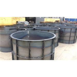 供应水泥检查井钢模具 检查井模具 耐磨耐用