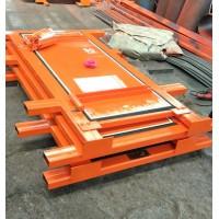 高压阻燃竹胶板风门 矿用竹胶板平衡风门
