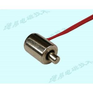 直流5V推拉式电磁铁/微型圆管电磁铁定制