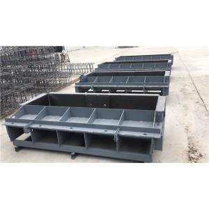 高铁遮板钢模具 预制遮板模具 力达