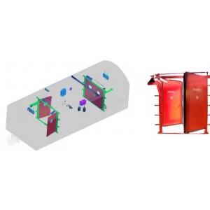 气动风门|矿用全自动气动风门技术参数