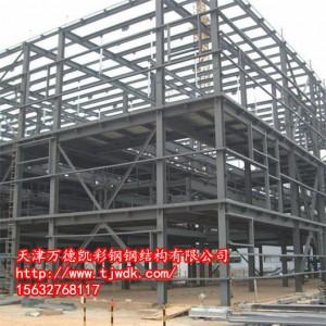 """钢结构阁楼施工、天津""""活广告"""""""