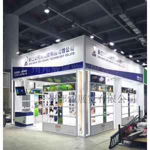 广州木质展架制作 会展木结构摊位搭建安装厂家