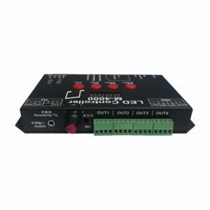 M4000声控音乐音频幻彩全彩LED控制器广东厂家批发