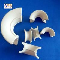 厂家供应硫酸塔冷却塔高效陶瓷填料 规格齐全 陶瓷矩鞍环填料