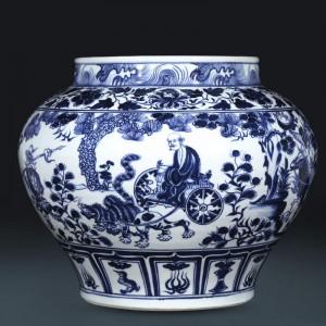 景德镇名师手绘小花瓶批发  手绘陶瓷花瓶